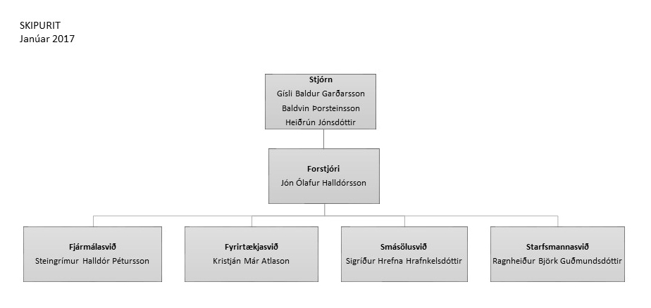 Iceland Oil Ltd. - Organization Chart
